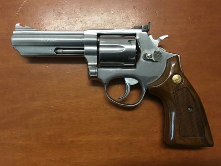 L'arma sequestrata a Pontoriero