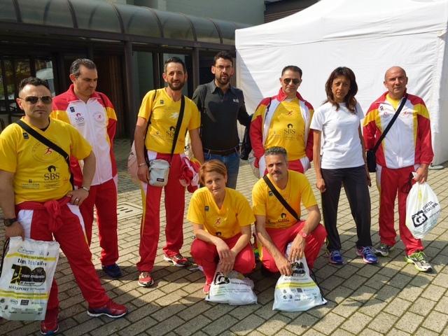 Gli atleti di San Costantino a Seregno
