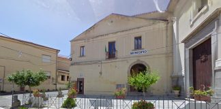 Il palazzo municipale di Nicotera