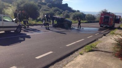 Incidente stradale a Mileto: 79enne muore carbonizzato