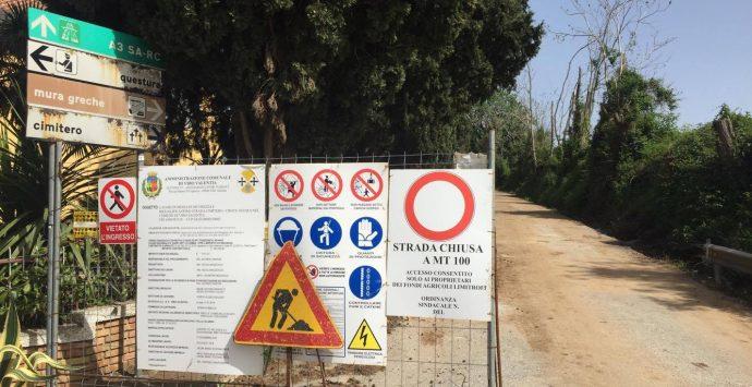 Le Mura greche sepolte (ma tutelate) per necessità