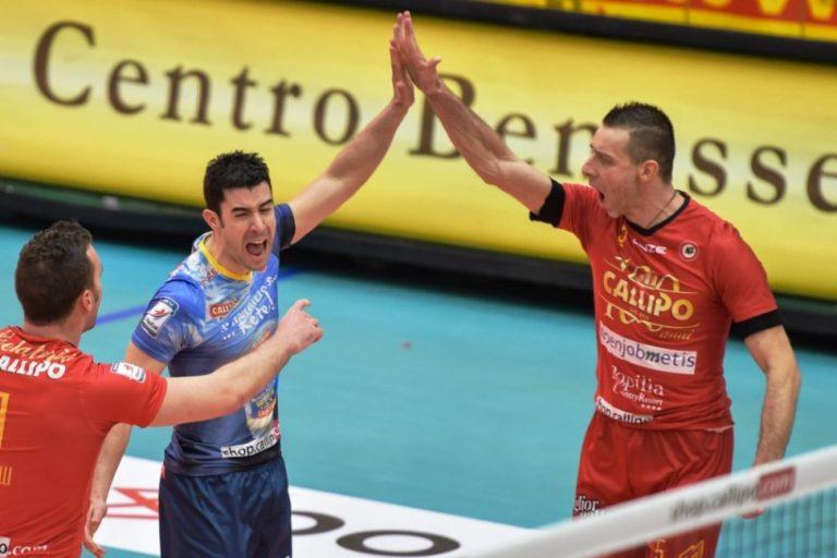 Tonno Callipo, buona la prima: vittoria sofferta contro Cantù