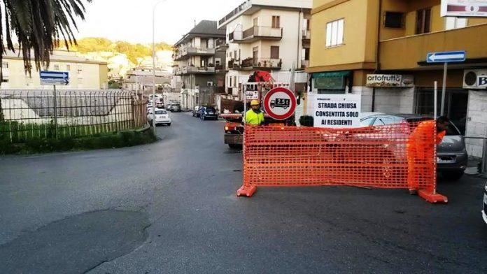 La chiusura di via Protettì a Vibo