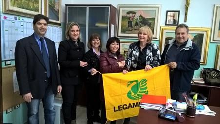L'istituto Garibaldi-Buccarelli è socio ufficiale di Legambiente