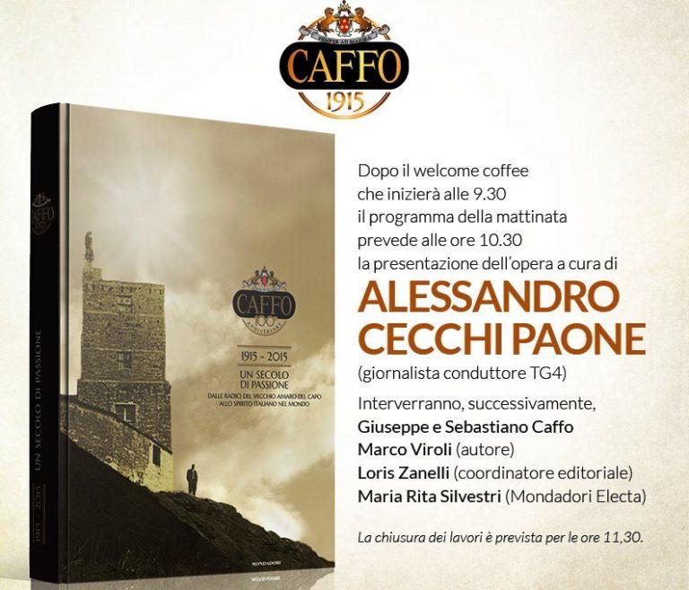 """""""Un secolo di passione"""": la storia della distilleria Caffo in un libro"""