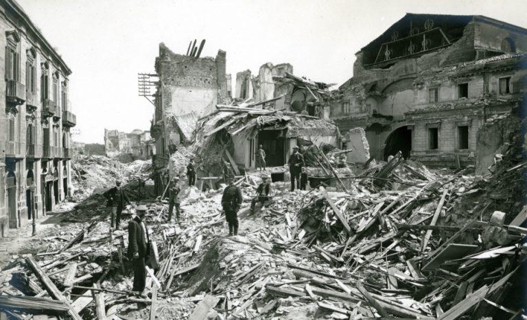 1908, il sisma che sconvolse Reggio e Messina