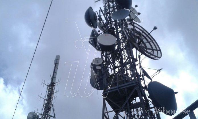 Le antenne sequestrate in località Croce Nivera