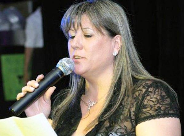 La giornalista Cristina Borruto