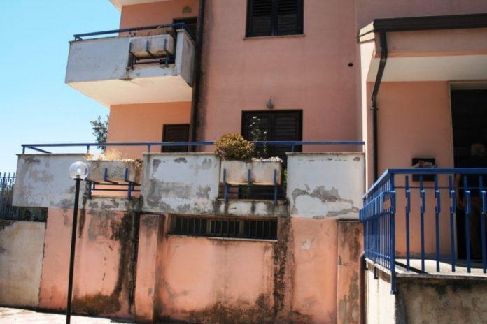Uno degli immobili confiscati a Vibo