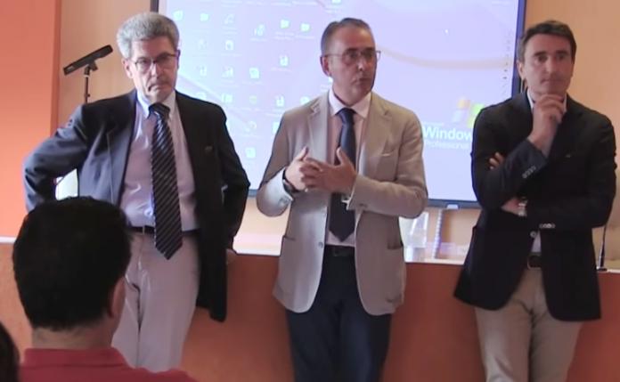 Da sinistra Spagnuolo, Morelli e Nardo