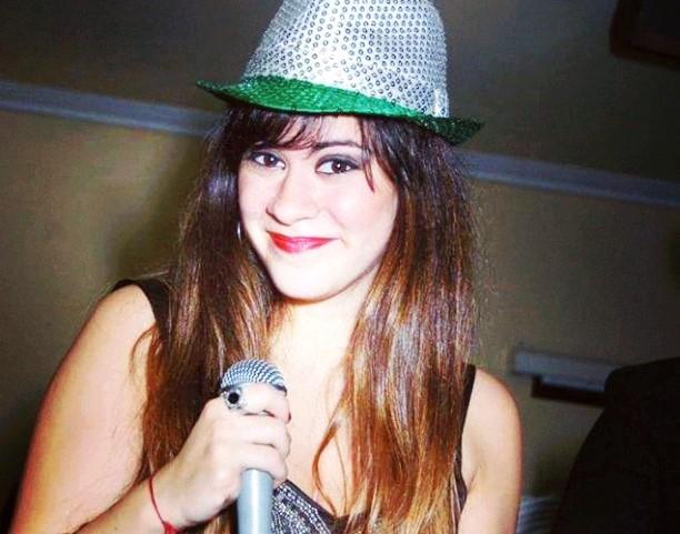 La cantante Noelia Ciccioli