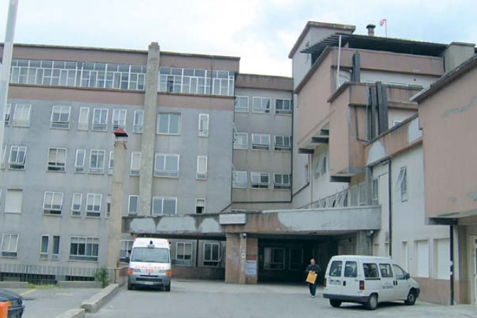 L'ospedale San Bruno di Serra