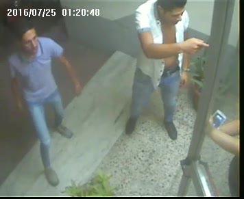 Aggressione e rapina a Vibo Marina, le immagini del pestaggio