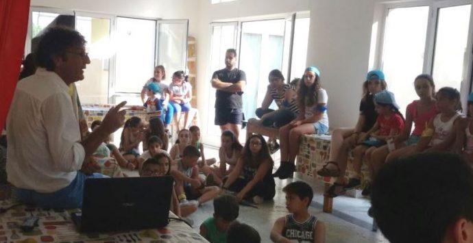 I bambini di Zambrone a lezione di educazione ambientale
