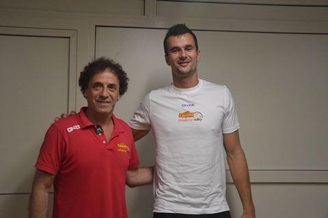 Coach Kantor con il nuovo acquisto Rejlek