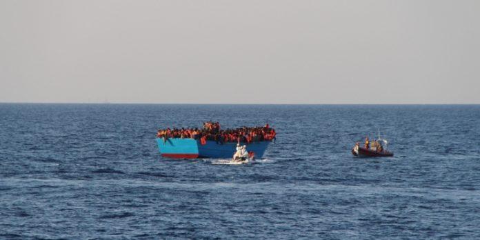 Operazioni di salvataggio nel Mediterraneo