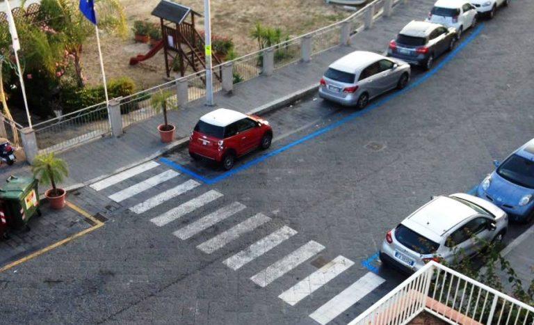 """Vibo Marina, in via Emilia irrompono le """"strisce blu"""""""