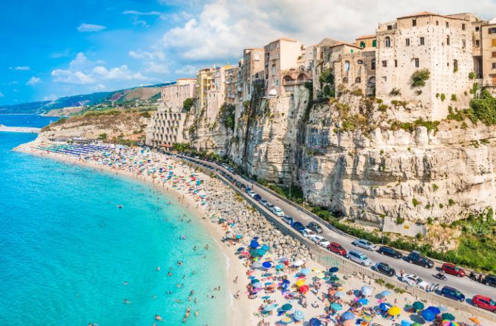 TripAdvisor incorona Tropea tra le spiagge più belle d'Italia