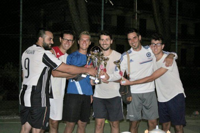 I vincitori del torneo di Zambrone
