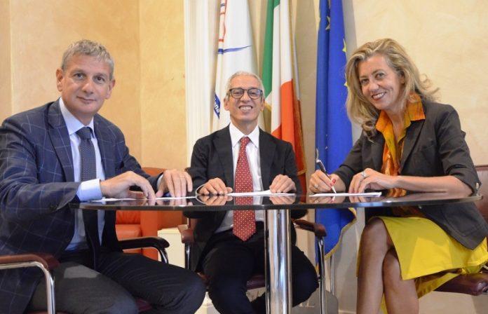 Da sinistra Greco, Cavallaro e Mantovani