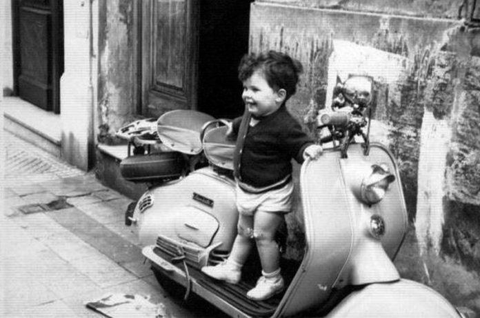 Mauricio Macri, attuale presidente dell'Argentina, da bambino