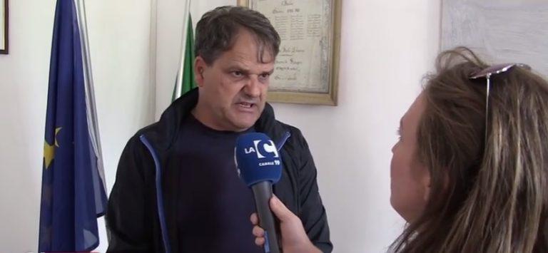 VIDEO | Elicottero in piazza a Nicotera, Pagano: «Io vittima di un episodio delinquenziale»