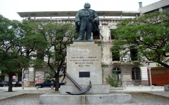 I calabresi d'Uruguay festeggiano Garibaldi