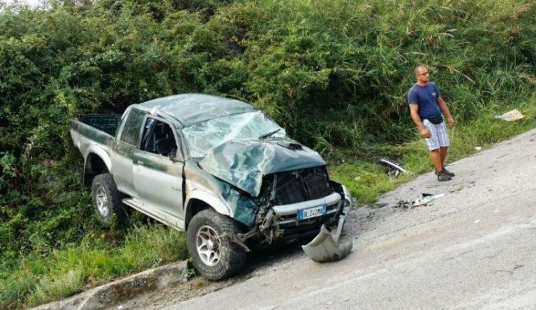 Incidente stradale nel Vibonese, ventunenne in prognosi riservata