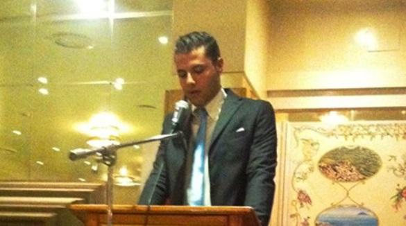 Marco Martino, giovane dirigente nazionale dell'Udc