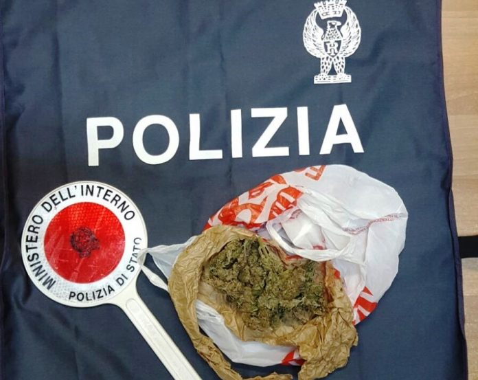La sostanza rinvenuta dalla Polizia
