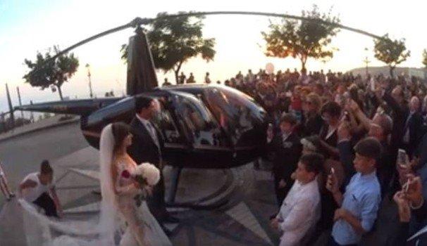 Sposi in elicottero a Nicotera: inammissibile il ricorso del responsabile dell'Area tecnica