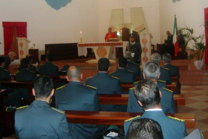 La messa celebrata a Vibo Marina