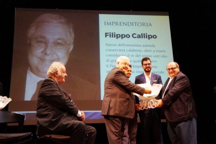 L'imprenditore Pippo Callipo premiato a Cesenatico