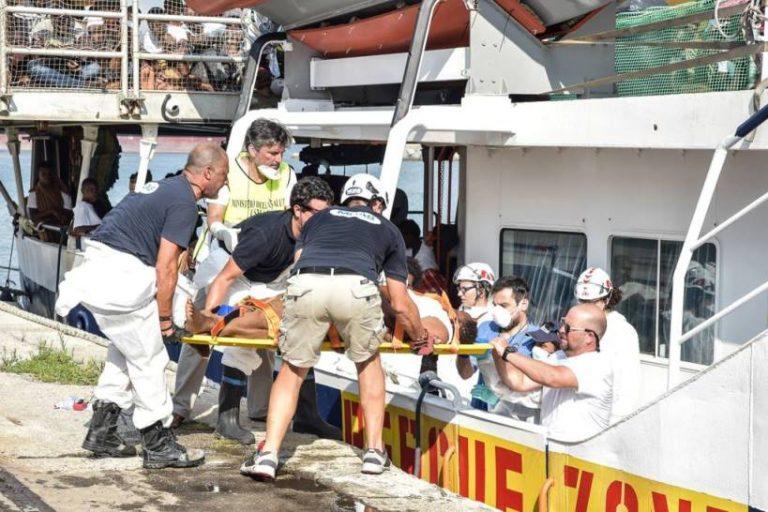 Migranti: in 414 sbarcati a Vibo Marina