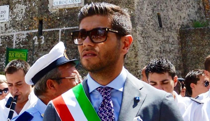 Il sindaco di Gerocarne Vitaliano Papillo