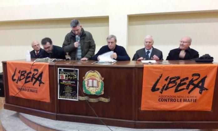 L'iniziativa con don Ciotti a Stefanaconi
