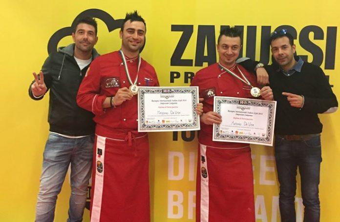 I fratelli De Vita premiati a Catania