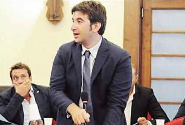 Antonio Lo Schiavo in consiglio comunale