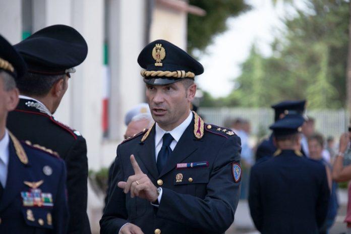 Il comandante della Polstrada Pasquale Ciocca