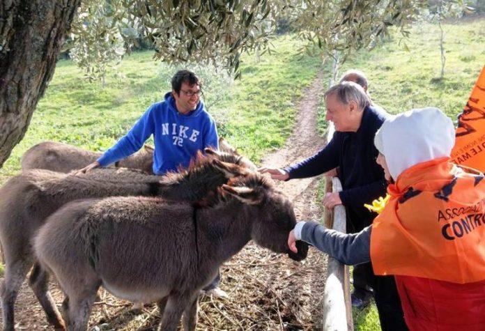 """Don Luigi Ciotti alla fattoria """"Junceum"""""""