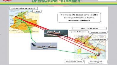 """Narcotraffico: operazione """"Stammer"""", gip convalida sequestro beni per milioni di euro"""