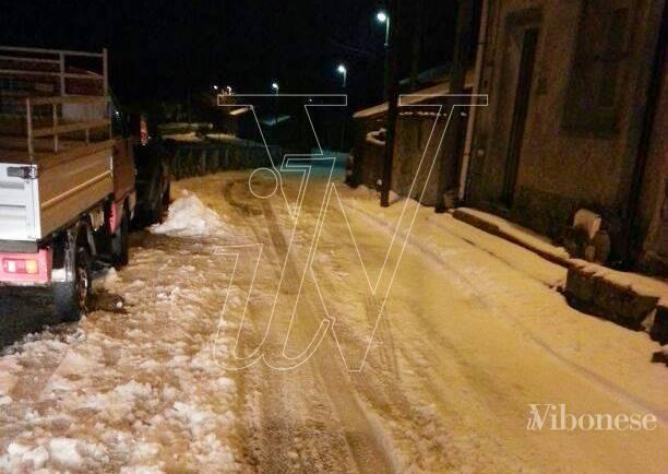 La neve a Cassari