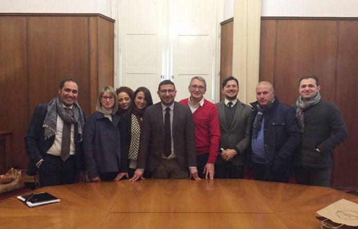 """Il gruppo """"Liberali per Vibo"""" con il coordinatore Capria"""