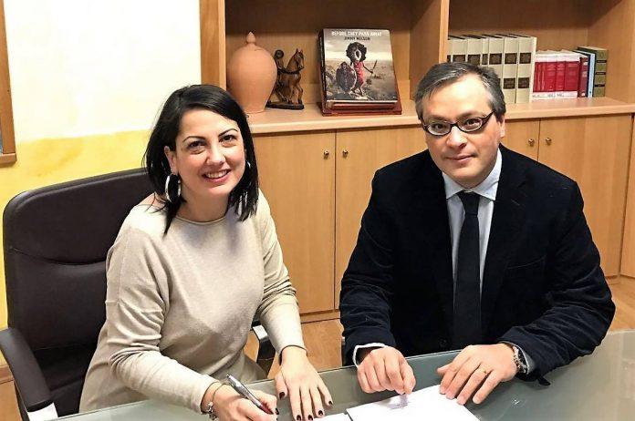 Da sinistra Greta Mazzoleni e Michele La Rocca