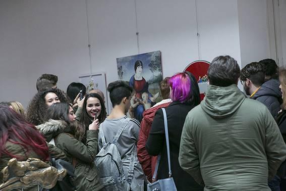 Studenti in visita al Museo Limen