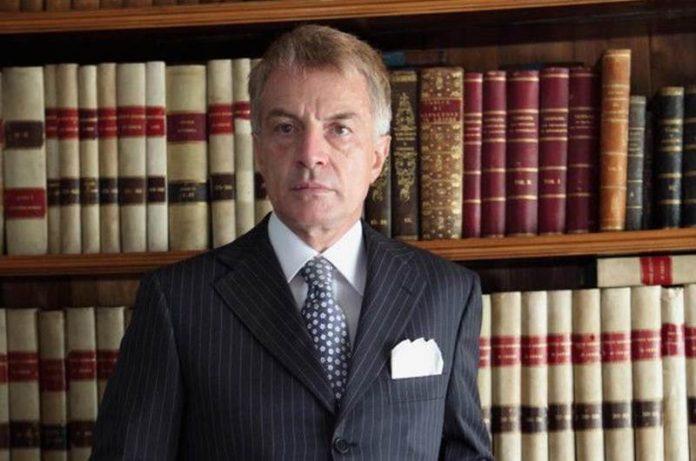 Il presidente della Commissione Giustizia del Senato, Nico D'Ascola