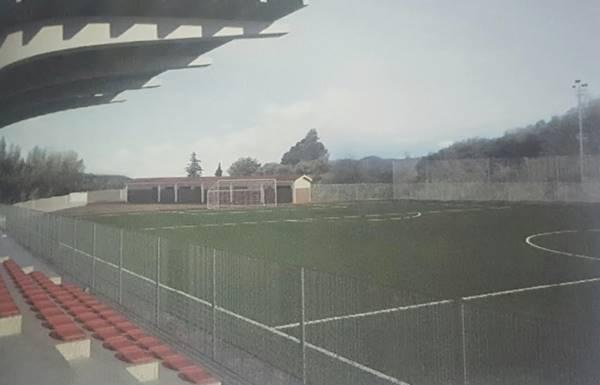 Il progetto del nuovo stadio di Soriano