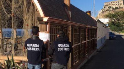 Guardia costiera sequestra fabbricato di un ristorante a Pizzo Calabro