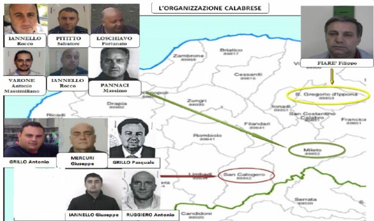 """Narcotraffico: il processo """"Stammer"""" resta a Vibo Valentia"""
