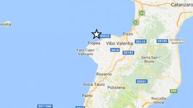 Terremoto, scossa lungo la costa Vibonese fra Tropea e Parghelia